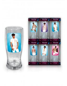 Szkło-Szklanka do piwa 0,5 l Strip Club Mężczyźni