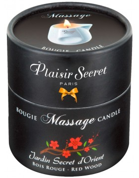 Massage Candle Red Wood 80 ml