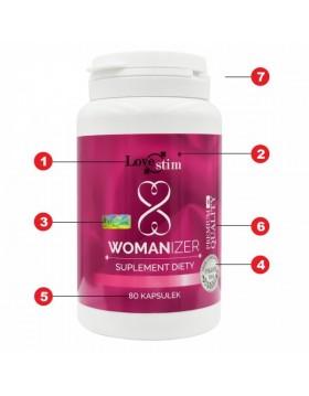 Supl.diety-LSTIM suplement WOMANIZER 80kaps