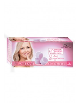 Tampony-Intimate Care Softtampons 5 szt.