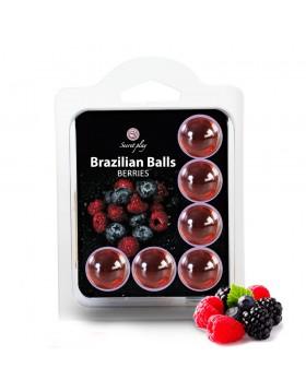 SET 6 BRAZILIAN BALLS BERRIES