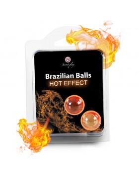 SET 2 BRAZILIAN BALLS HOT EFFECT