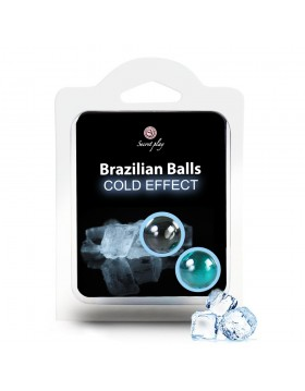 SET 2 BRAZILIAN BALLS COLD EFFECT