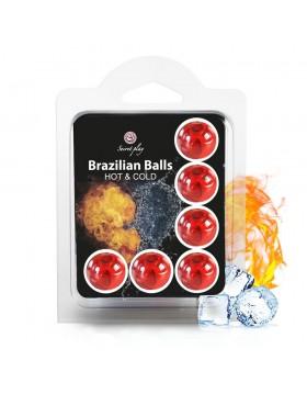 SET 6 BRAZILIAN BALLS HOT & COLD