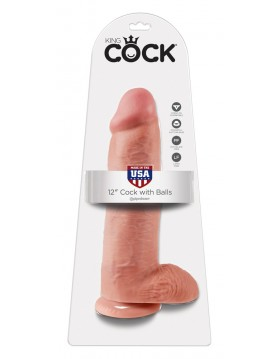 King Cock with balls 12 inch