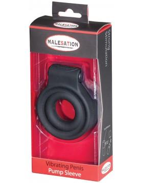 MALESATION Vibrating Penis Sleeve