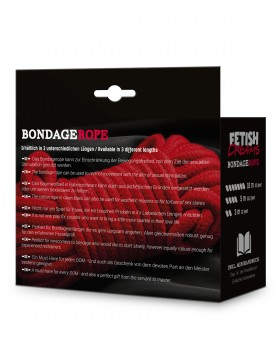 Fetish Dreams Bondage Rope 10m Red