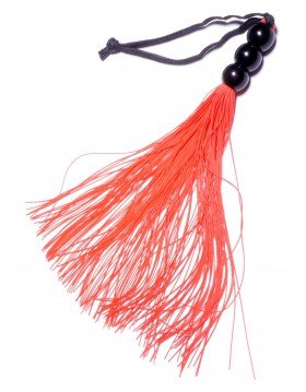 """Silicone Whip Red 10"""" - Fetish Boss Series"""