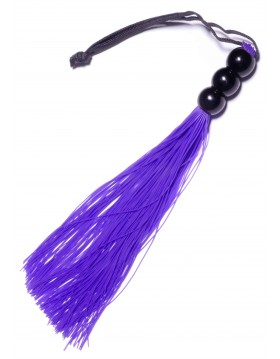 """Silicone Whip Purple 10"""" - Fetish Boss Series"""
