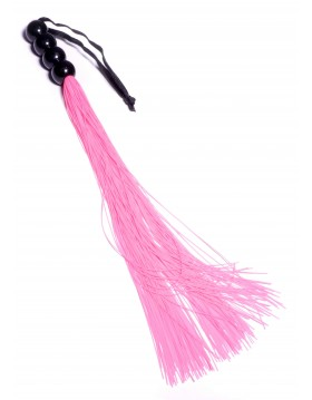 """Silicone Whip Pink 14"""" - Fetish Boss Series"""