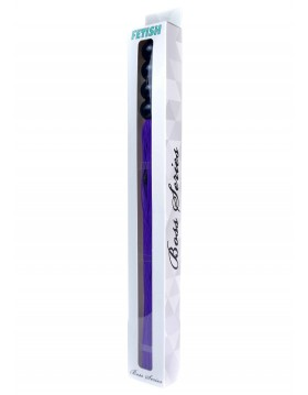 """Silicone Whip Purple 14"""" - Fetish Boss Series"""