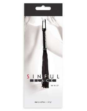 Pejcz-SINFUL WHIP BLACK