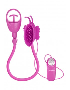 Pompka-BUTTERFLY CLITORAL PUMP PINK