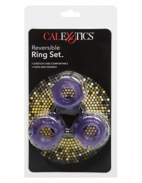 Pierścień-REVERSIBLE RING SET PURPLE