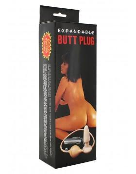 Plug-BUTT PLUG VIBRATOR WITH PUMP