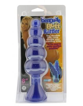 Plug-BENDABLE BUTT RATTLER BLUE