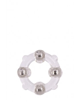 Pierścień-MENZSTUFF STUD RING CLEAR