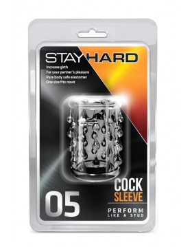 Stymulator-STAY HARD COCK SLEEVE 05 CLEAR